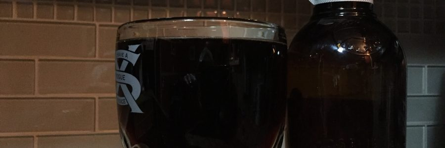 I see your -21 degree windchill and raise you a 12.9% abv barleywine…